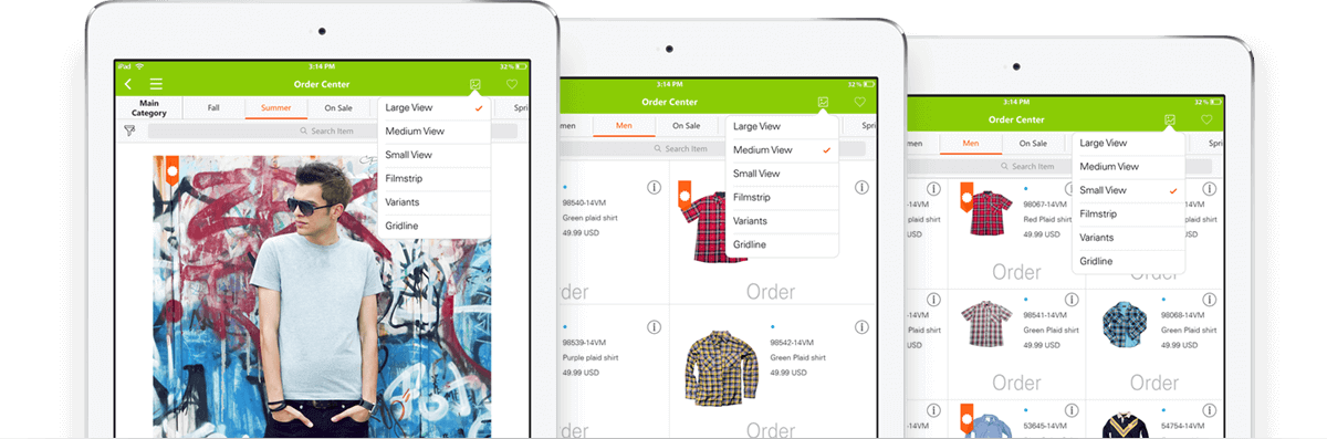e-catalog software for B2B e-commerce and field sales